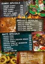 cebu advertising company |restaurant menu design