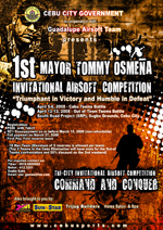 tommy osmena invitational airsoft competition cebu city