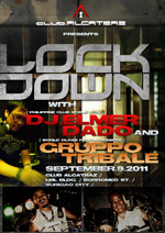 lockdown dj elmer dado and gruppo tribale poster
