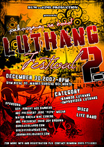 luthang festival mainit surigao poster design
