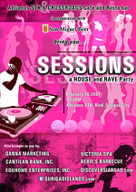 surigao sessions house and rave party