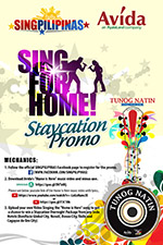 sing for home | avida singpilipinas