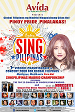 sing pilipinas videoke | madrid spain contest