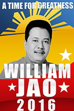 politics poster | william jao bohol